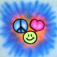 A peace love happiness